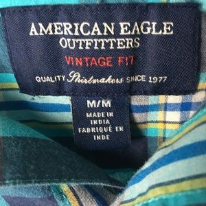 American Eagle Outfitters Shirts - American Eagle Outfitters Plaid Shirt
